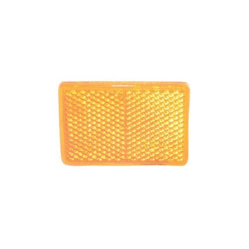 Reflector oranje 55x38 mm zelfklevend