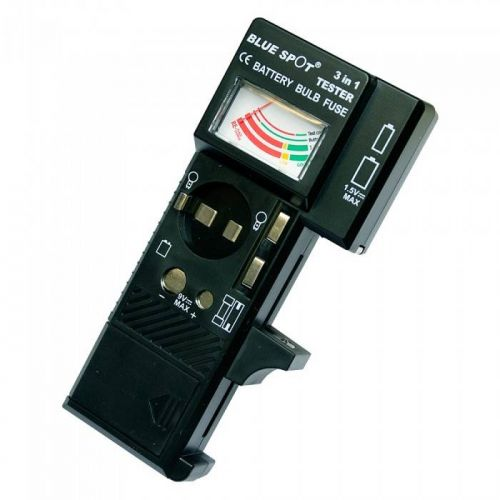 Universal batterij / zekering / lamp tester